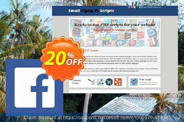 Facebook Page Auto Poster Script discount 10% OFF, 2020 New Year offering sales