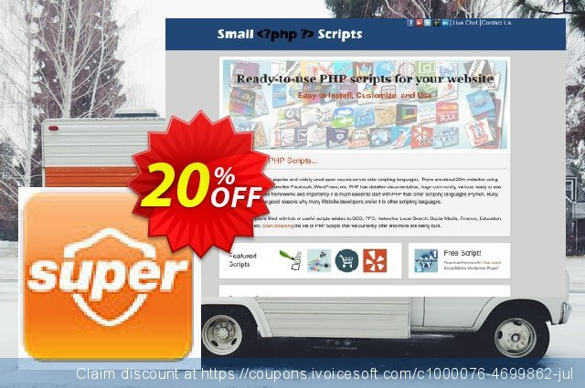 Superpages Listings Fetch Script最产品销售 软件截图