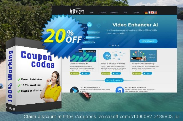 AnvSoft Wedding Album Maker discount 20% OFF, 2021 Happy New Year offering sales
