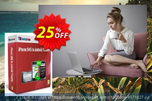 Backuptrans iPhone SMS to Android Transfer (Business Edition) discount 15% OFF, 2020 Halloween promo sales