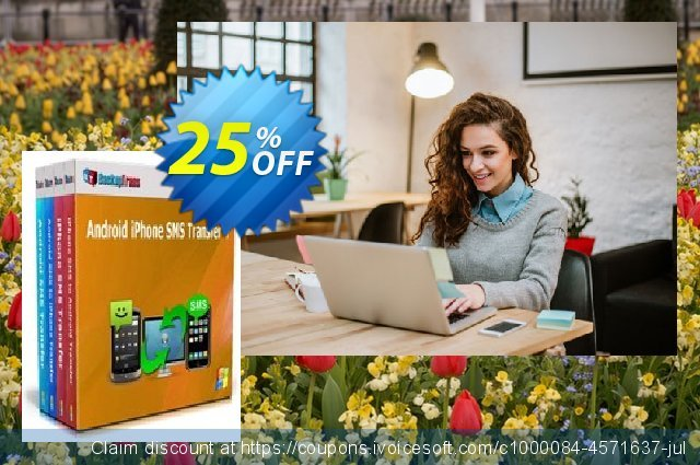 Backuptrans Android iPhone SMS Transfer + (Family Edition) discount 15% OFF, 2020 Halloween discounts