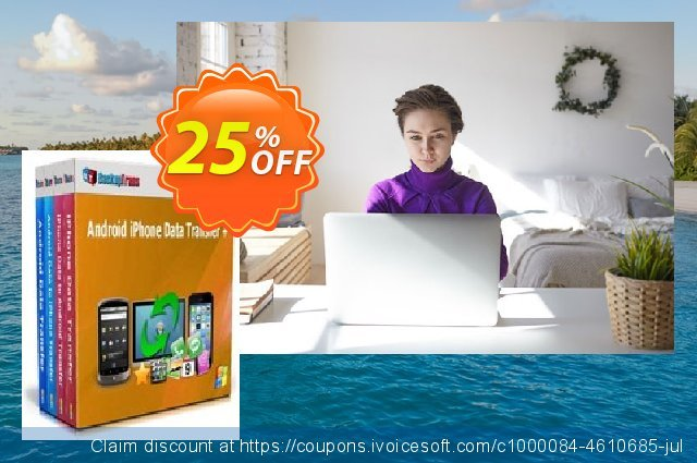 Backuptrans Android iPhone Data Transfer + (Business Edition) discount 15% OFF, 2020 Halloween deals
