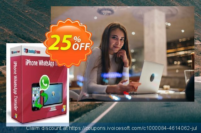 Backuptrans iPhone WhatsApp Transfer (Family Edition) discount 15% OFF, 2020 Halloween offering sales