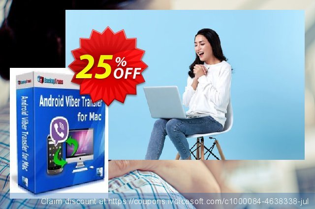 Backuptrans Android Viber Transfer for Mac (Business Edition) discount 10% OFF, 2020 Back-to-School promotions promo