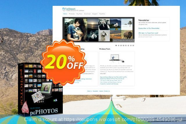 FileStream pcPhotos discount 20% OFF, 2019 Back to School season offering sales
