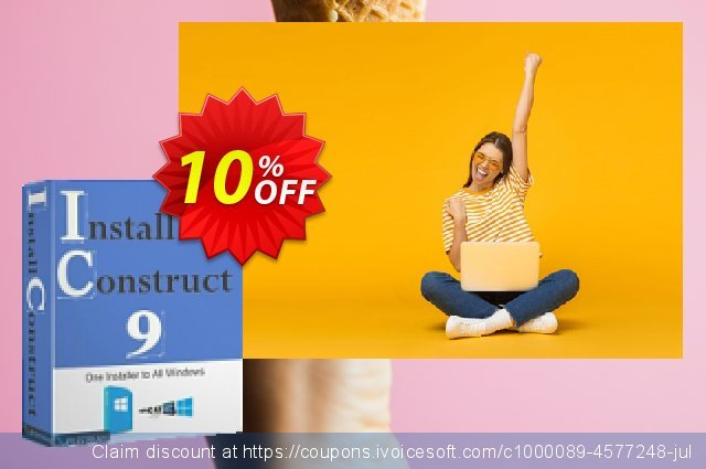 FileStream InstallConstruct 9 discount 10% OFF, 2020 April Fools' Day offering sales