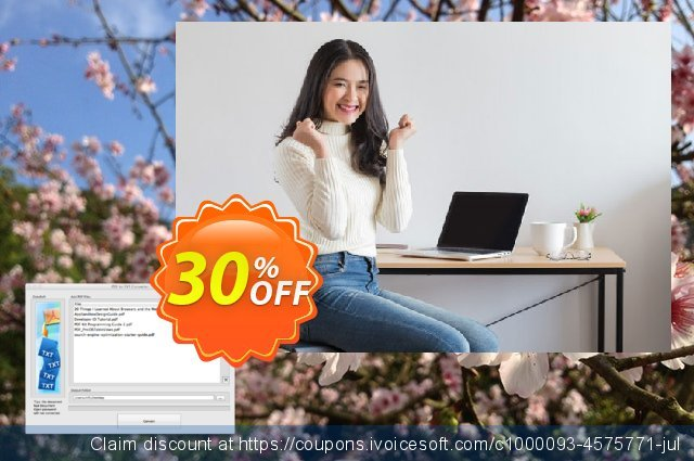 PDF to TXT Converter for Mac discount 30% OFF, 2021 New Year's Weekend offer