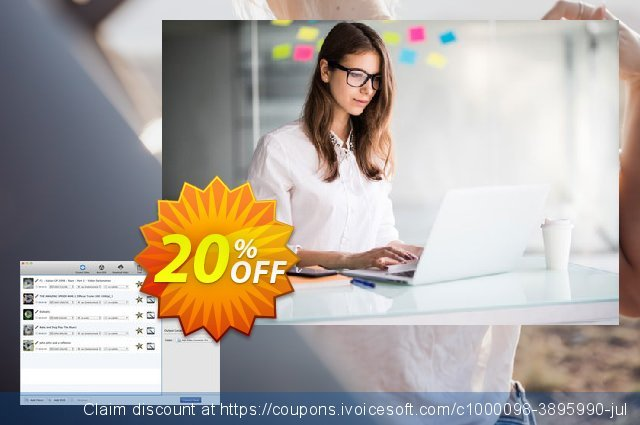 Any Video Converter for Mac discount 20% OFF, 2020 Xmas offering sales