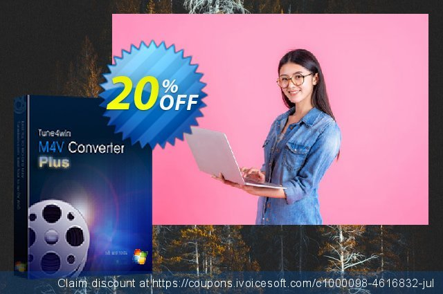 Tune4Win M4V Converter Plus for Windows discount 20% OFF, 2020 Halloween offering sales
