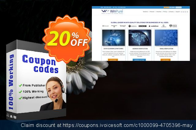 WinPure Clean & Match Enterprise Lifetime Edition discount 20% OFF, 2019 Thanksgiving offering sales