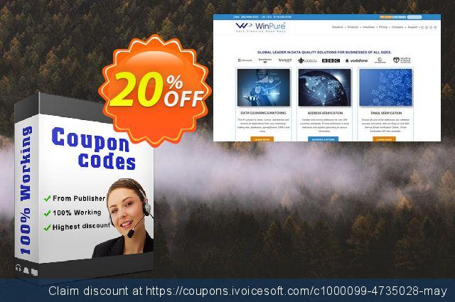 WinPure Clean & Match Enterprise discount 20% OFF, 2019 Thanksgiving Day offering deals