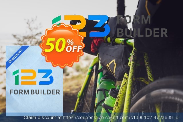 123FormBuilder Platinum  - Yearly discount 67% OFF, 2019 University Student offer offer