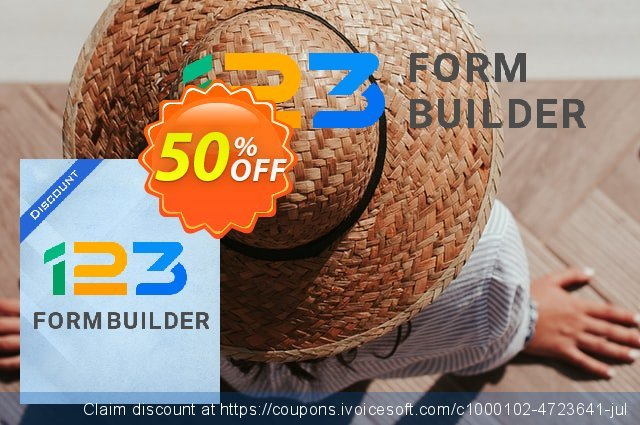 123FormBuilder Pro - Yearly discount 50% OFF, 2020 College Student deals offering sales