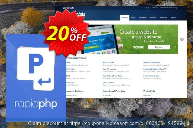 Rapid PHP 2018 discount 20% OFF, 2020 July 4th offering discount