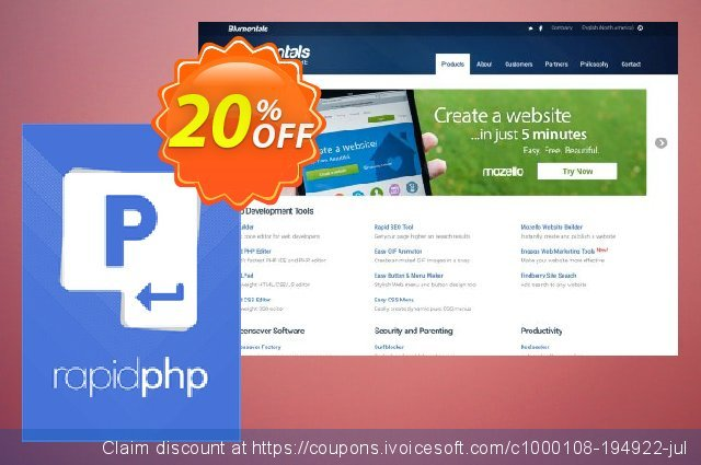 Rapid PHP 2018 Personal discount 20% OFF, 2020 Working Day offer