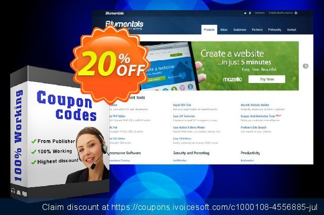 Easy CSS Menu 5 Personal discount 20% OFF, 2020 New Year's Day promotions