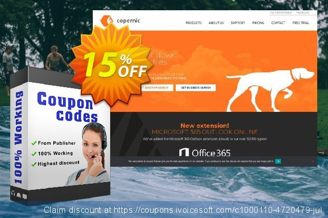 Copernic E-Book Extension discount 15% OFF, 2020 Back to School Promos offer