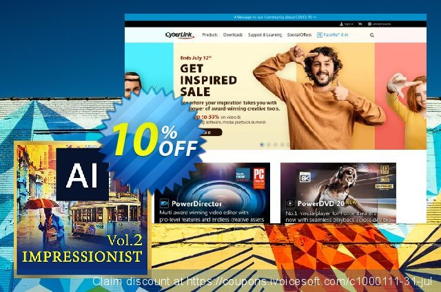 Impressionist AI Style Pack Vol. 2 discount 10% OFF, 2020 Back to School shopping offer