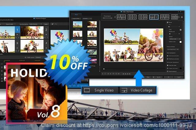 Holiday Pack Vol. 8 for PowerDirector discount 10% OFF, 2020 Halloween offering sales