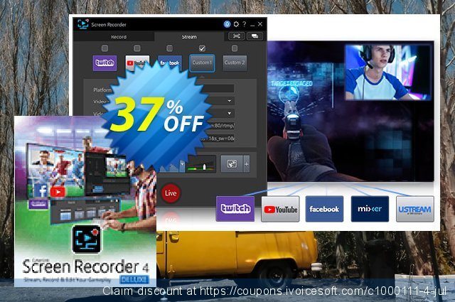 Cyberlink Screen Recorder discount 37% OFF, 2020 July 4th offering sales