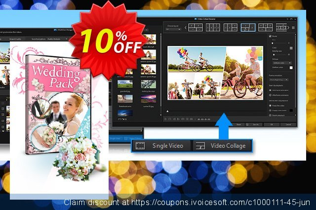 Cyberlink Wedding Pack for PowerDirector discount 10% OFF, 2020 College Student deals offering sales