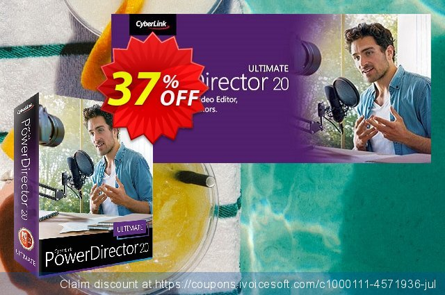 PowerDirector discount 10% OFF, 2019 Thanksgiving Day sales