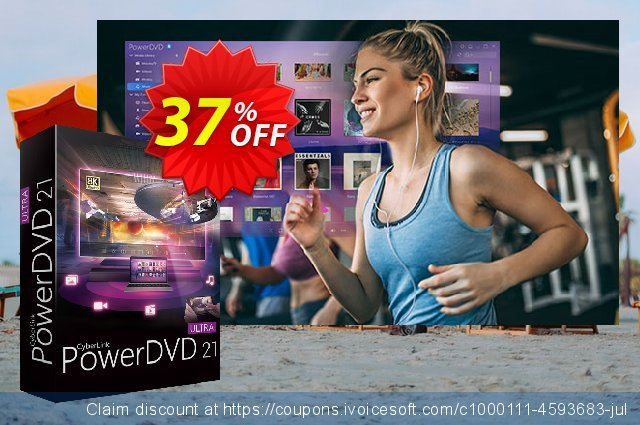 PowerDVD 20 Ultra discount 37% OFF, 2021 Labour Day offering sales. PowerDVD wondrous promotions code 2021