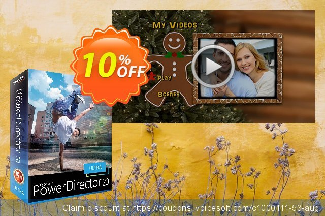 Holiday DVD Menus Pack Vol. 3 for PowerDirector discount 10% OFF, 2021 Magic Day offering deals. Holiday DVD Menus Pack Vol. 3 Deal
