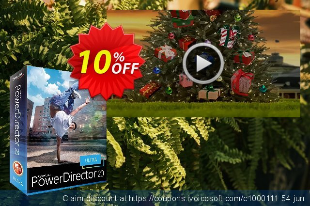 Holiday DVD Menus Pack Vol. 2 for PowerDirector discount 10% OFF, 2021 All Saints' Eve promo sales. Holiday DVD Menus Pack Vol. 2 Deal