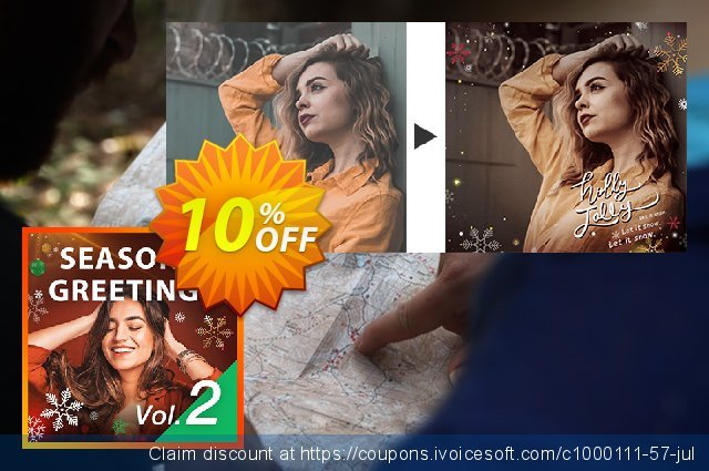 Season's Greetings Vol. 2 Express Layer Pack discount 10% OFF, 2020 Student deals offering sales