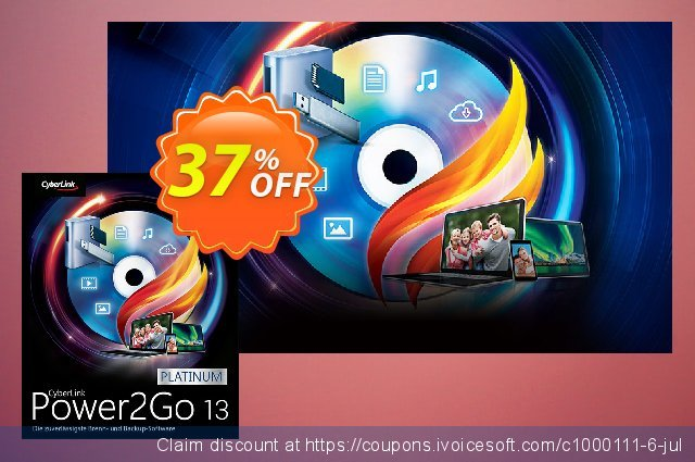 Power2Go 13 discount 37% OFF, 2020 Back to School promo discounts