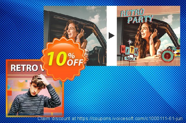 Retro Vibe Express Layer Pack discount 10% OFF, 2021 National No Bra Day offering sales. Retro Vibe Express Layer Pack Deal