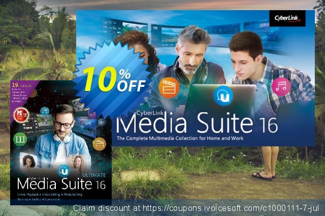 Media Suite 16 discount 10% OFF, 2020 Back to School event promotions