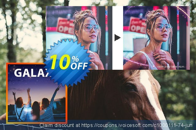 Galaxy Express Layer Pack discount 10% OFF, 2020 Halloween promo