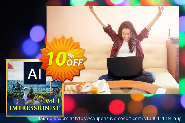 Impressionist AI Style Pack Vol. 1 for Premiere & After Effects 惊人的 促销 软件截图