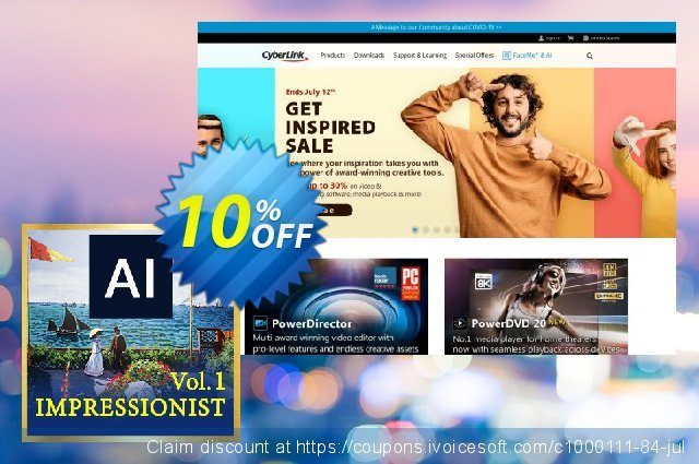 Impressionist AI Style Pack Vol. 1 for Premiere & After Effects discount 10% OFF, 2020 College Student deals discounts