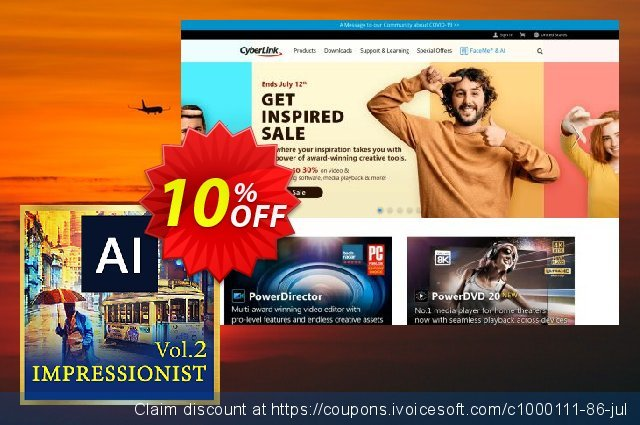 Impressionist AI Style Pack Vol. 2 discount 10% OFF, 2020 College Student deals sales