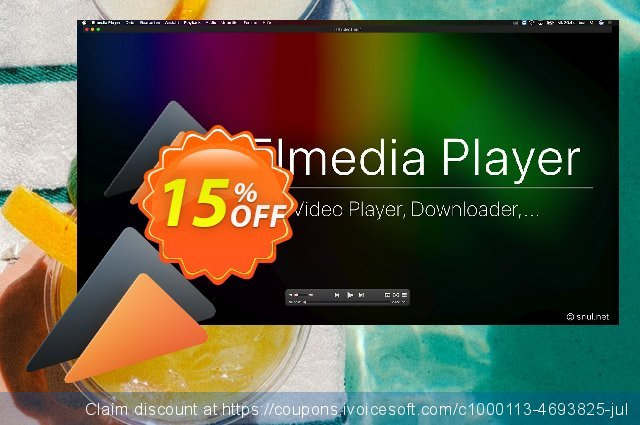 Elmedia Player PRO discount 15% OFF, 2021 Mother's Day offering sales. Coupon discount 2021