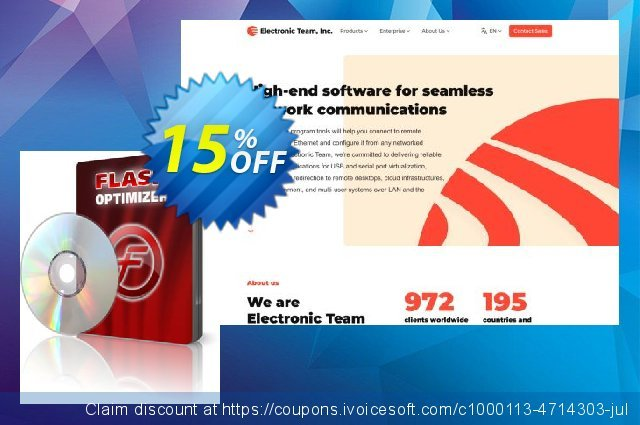 Flash Optimizer discount 15% OFF, 2020 Back to School coupons offering sales