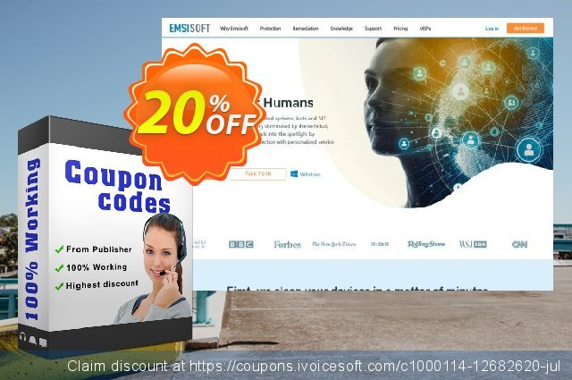 Emsisoft Mobile Security discount 10% OFF, 2020 Happy New Year offer
