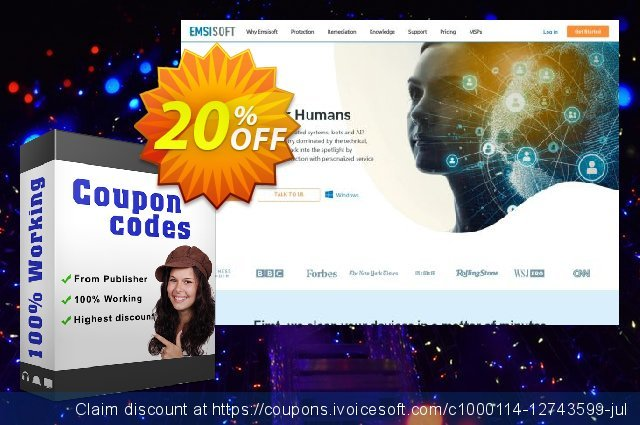 Emsisoft Anti-Malware Home discount 10% OFF, 2020 Spring offering sales