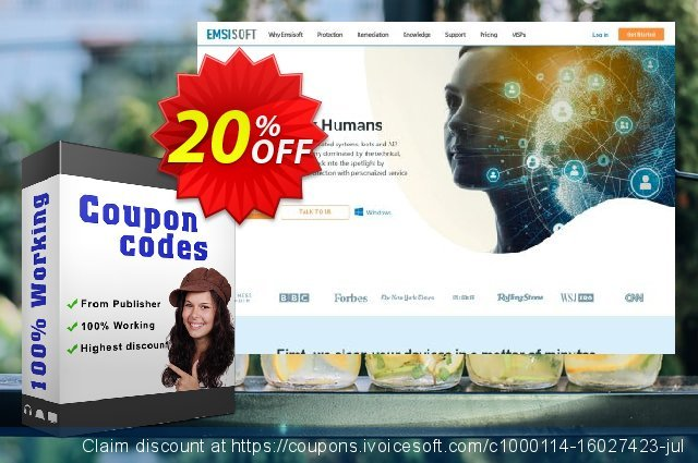 Emsisoft Business Security discount 10% OFF, 2019 University Student deals offering sales