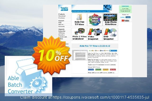Able Batch Converter (Site License) discount 10% OFF, 2020 Back to School shopping deals