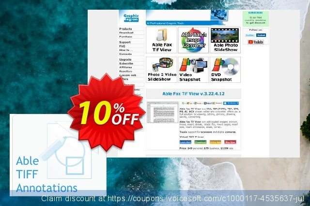 Able Tiff Annotations (World Wide License) discount 10% OFF, 2020 Halloween offering discount