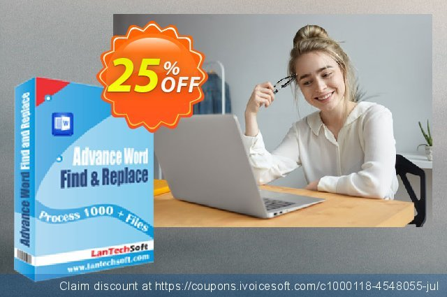 LantechSoft Advance Word Find & Replace Pro discount 25% OFF, 2020 Halloween offering sales