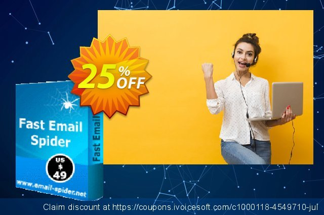 LantechSoft Fast Web Email Spider discount 25% OFF, 2020 Halloween offering sales