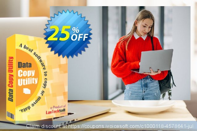 LantechSoft Data Copy Utility discount 25% OFF, 2020 Labour Day offer