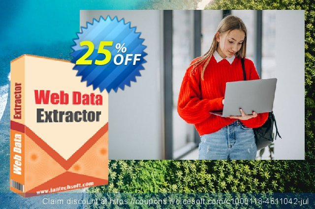 LantechSoft Web Data Extractor discount 25% OFF, 2020 Student deals offering sales