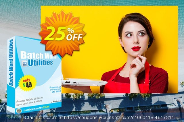 LantechSoft Batch Word Utilities discount 25% OFF, 2020 Halloween promotions