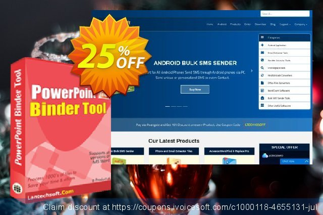 LantechSoft PowerPoint Binder Tool discount 25% OFF, 2020 Labour Day discounts